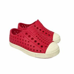 Native Red Slip On Water Shoes Toddler size 5